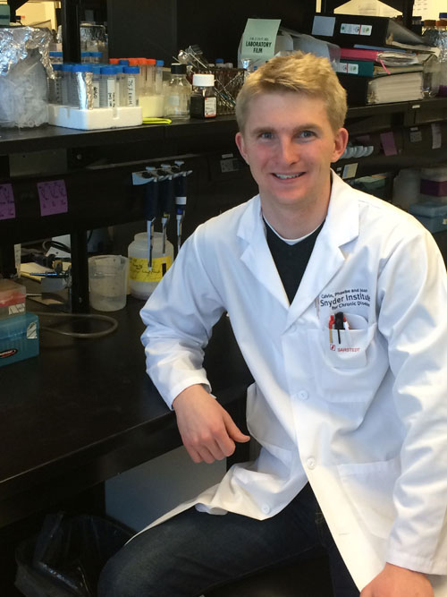 James Murphy, BSc Biological Sciences; Year abroad in Calgary Canada