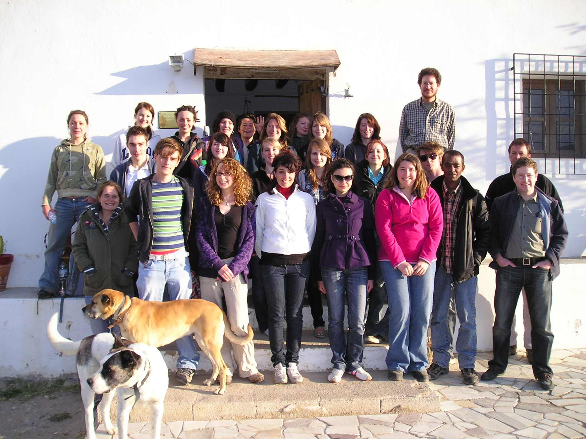 Mediterranean field course group
