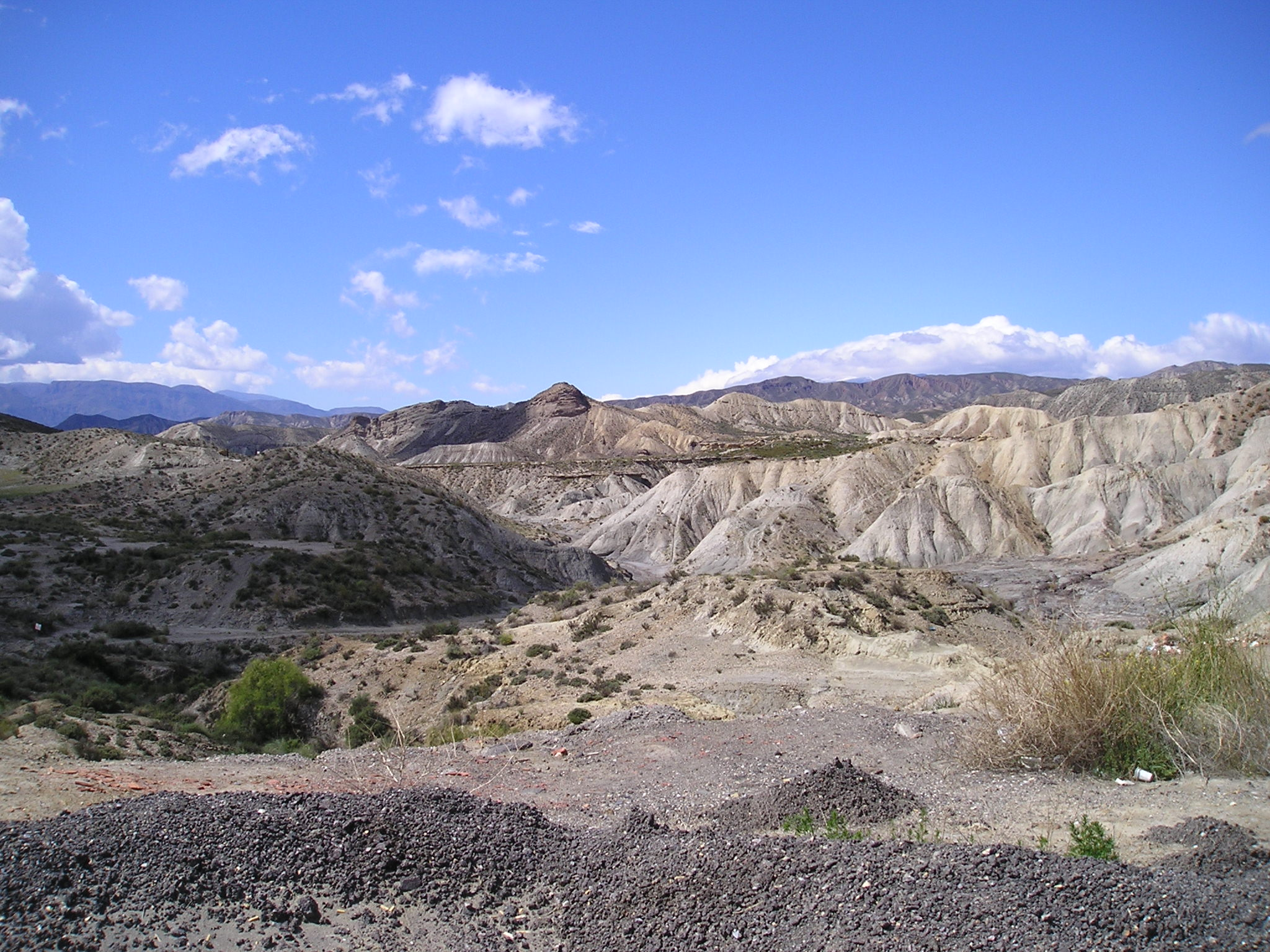 The Tabernas Badlands