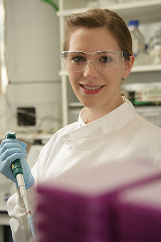 Keturah Darbyshire, BSc Pharmacology, did an Industrial Placement at Astra Zeneca
