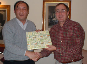Visit from Zhejiang university