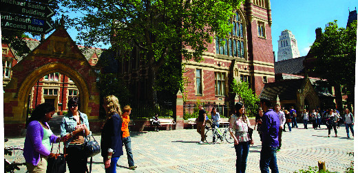 Leeds ranked in top 10 for student experience in 2014 Times Higher Education survey
