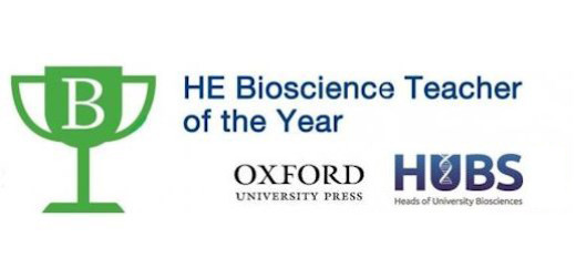 Dr Dave Lewis Shortlisted for HE Bioscience Teacher of the Year