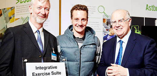 Alistair Brownlee MBE, opens our new integrative exercise suite