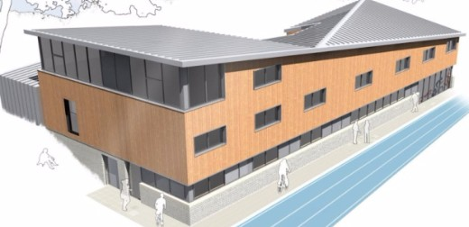 Plans for £4.5m Cycle Track and Sports Pavilion
